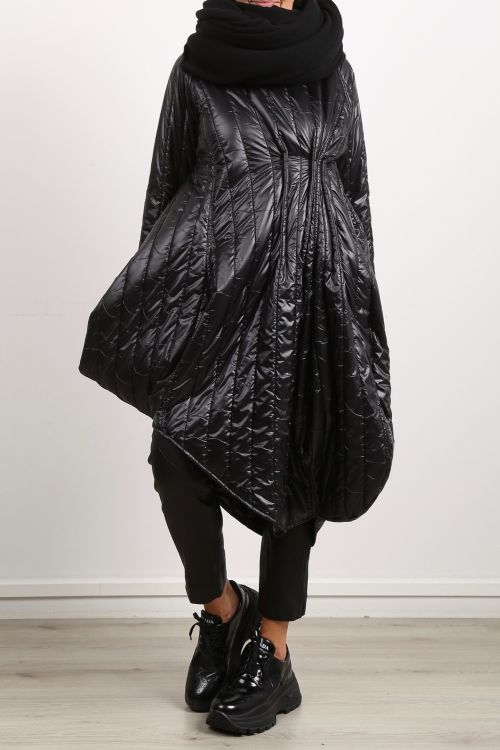 creare - Dress MOOD quilted empire style black - Winter 2021