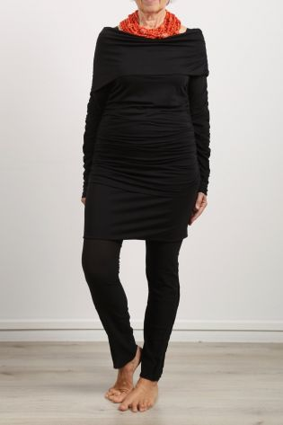 black by k&m - Schlauchrock Kurzform Jersey Stretch black