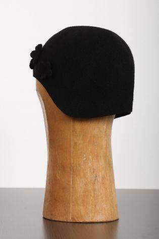 scha - Felt hat Dakar Flowers Sweet Sixteen wool black
