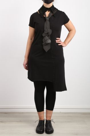 black by k&m - Tunic You Look Stunning with decorative stitching black - Summer 2021