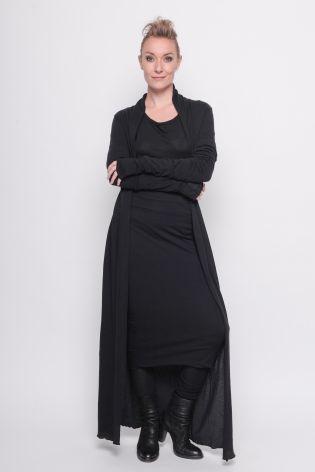 black by k&m - Schlauchrock Deliver doppellagig gedreht Jersey black