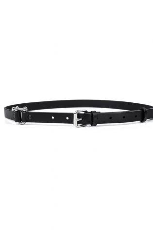 teo + ng - Leather belt JIN black - Winter 2022