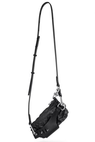 teo + ng - Leather bag LEXY black - Winter 2022
