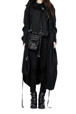 teo + ng - Tasche CHAE mit Ledergürtel black - Winter 2022