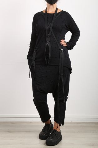 black by k&m - Pants Angels Would Fall black - Winter 2022