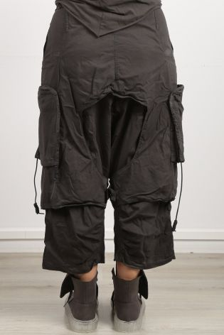 rundholz dip - Pants with overcast and low crotch Cotton Stretch cedar - Winter 2022
