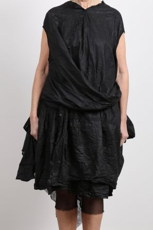 rundholz dip - Balloon tunic with tulle black