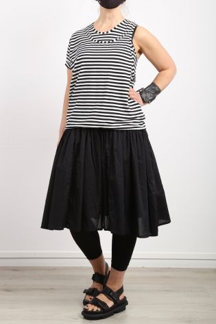 rundholz - Dress with Double Top Jersey Stretch Small Stripe